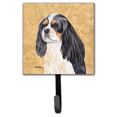 Cavalier Spaniel Leash Holder and Wall Hook