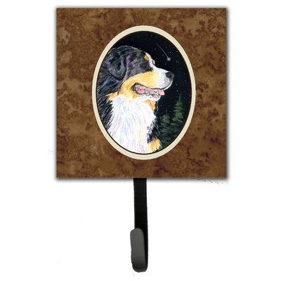 Starry Night Bernese Mountain Dog Leash Holder and Wall Hook