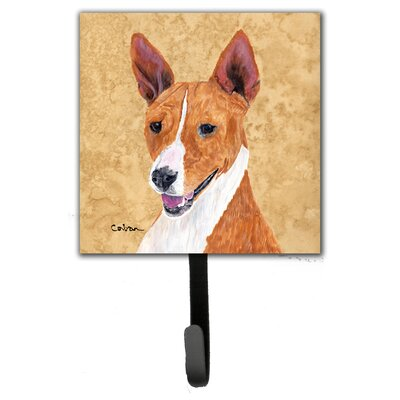 Basenji Leash Holder and Wall Hook