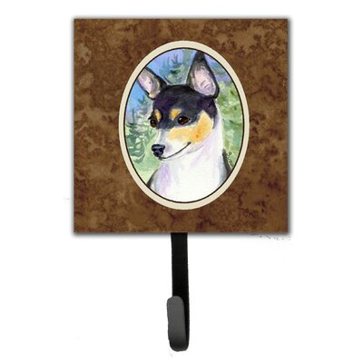 Fox Terrier Leash Holder and Wall Hook