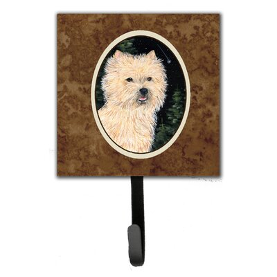 Starry Night Cairn Terrier Leash Holder and Wall Hook
