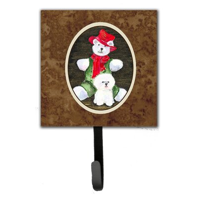 Bichon Frise Leash Holder and Wall Hook