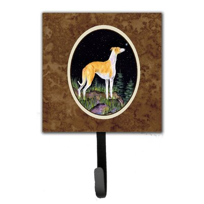 Starry Night Whippet Leash Holder and Wall Hook
