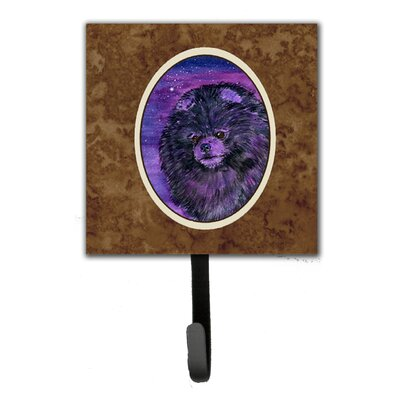 Starry Night Pomeranian Leash Holder and Wall Hook