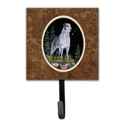 Starry Night Scottish Deerhound Leash Holder and Wall Hook