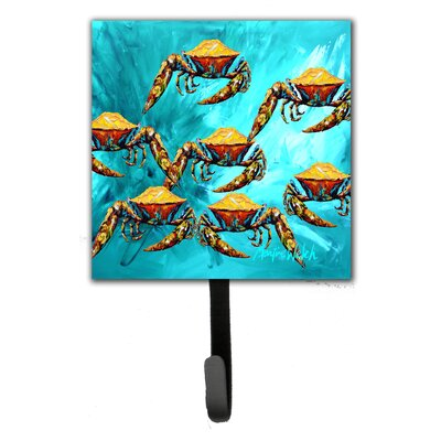 Crab Lotta Crabs Leash Holder and Wall Hook