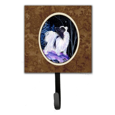 Starry Night Papillon Leash Holder and Wall Hook
