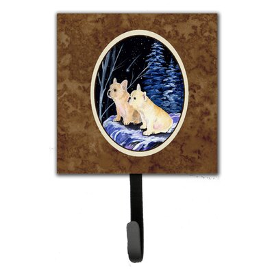Starry Night French Bulldog Leash Holder and Wall Hook