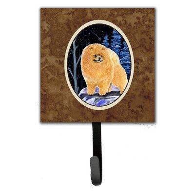 Starry Night Pomeranian Leash Holder and Wall Hook