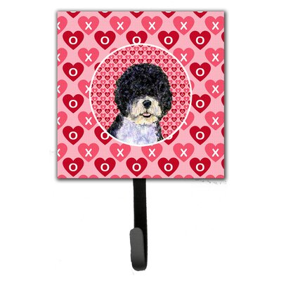 Portuguese Water Dog Leash Holder and Wall Hook