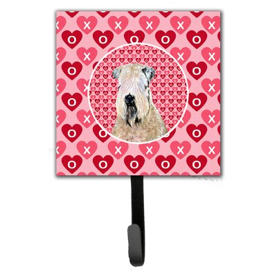 Wheaten Terrier Soft Coated Leash Holder and Wall Hook