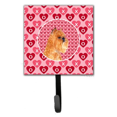 Brussels Griffon Leash Holder and Wall Hook