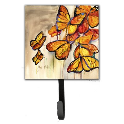 Butterflies Leash Holder and Wall Hook