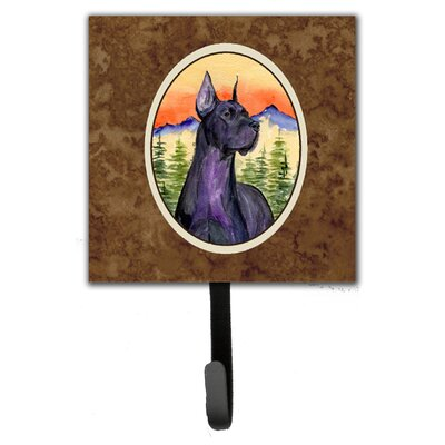 Great Dane Leash Holder and Wall Hook