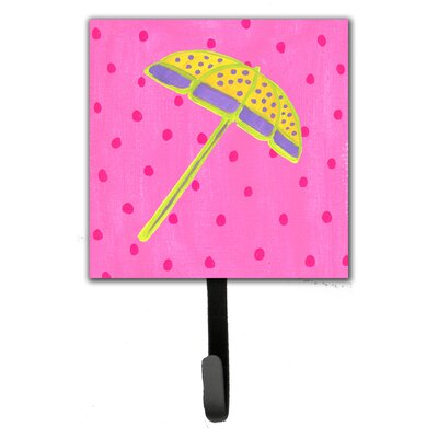 Beach Umbrella Leash Holder and Wall Hook