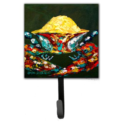 Crab Pick Me Leash Holder and Wall Hook