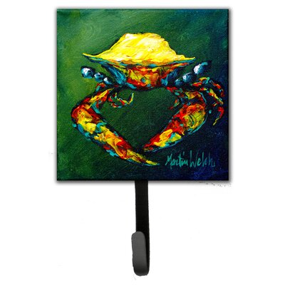 Crab Little Leash Holder and Wall Hook