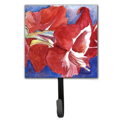 Amaryllis Flower Leash Holder and Wall Hook