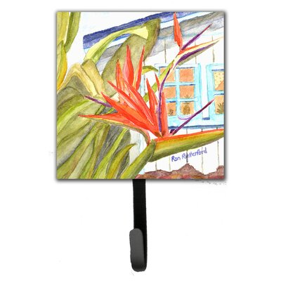 Bird of Paradise Leash Holder and Wall Hook