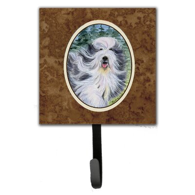 Bearded Collie Leash Holder and Wall Hook