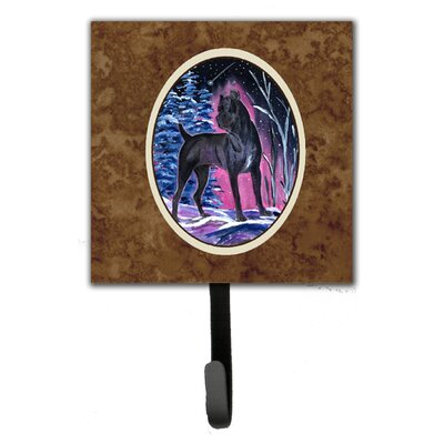 Starry Night Cane Corso Leash Holder and Wall Hook