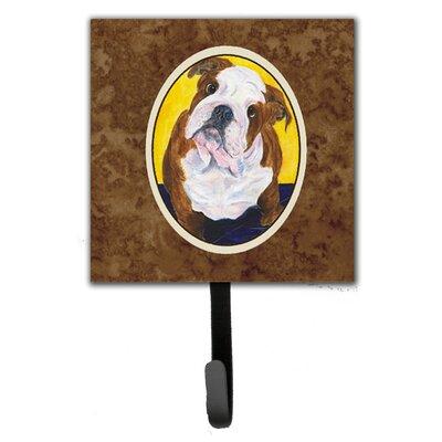 English Bulldog Leash Holder and Wall Hook