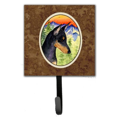 Manchester Terrier Leash Holder and Wall Hook