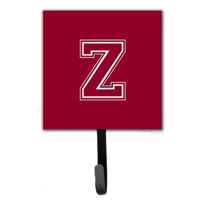 Monogram Leash Holder and Wall Hook Letter: Z
