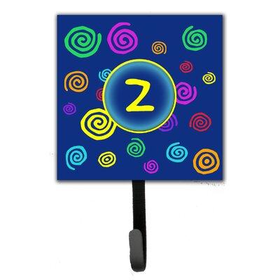 Monogram Swirls Leash Holder and Wall Hook Letter: Z