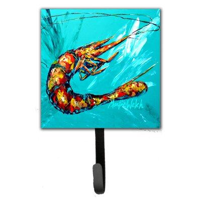 Shrimp Splish Splash Leash Holder and Key Hook