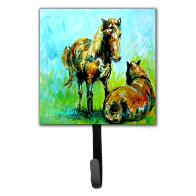 Horse Grazin Leash Holder and Key Hook