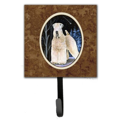 Starry Night Wheaten Soft Coated Terrier Leash Holder and Key Hook
