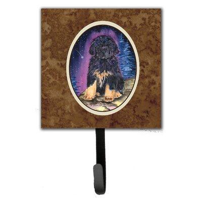 Starry Night Tibetan Mastiff Leash Holder and Key Hook