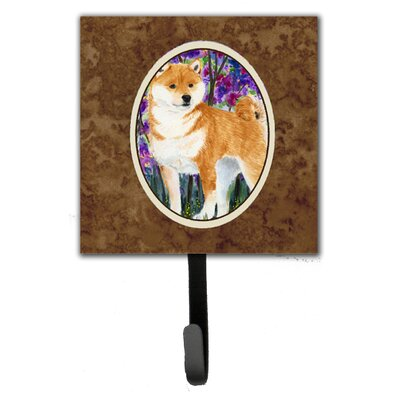 Shiba Inu Leash Holder and Key Hook