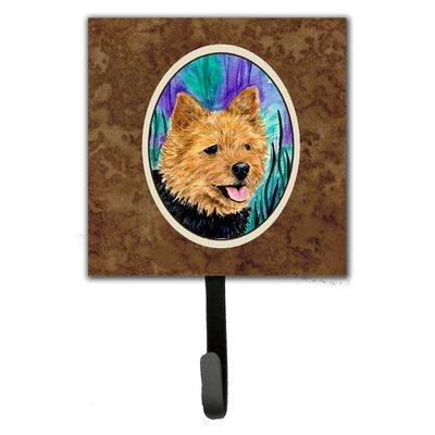 Norwich Terrier Leash Holder and Key Hook