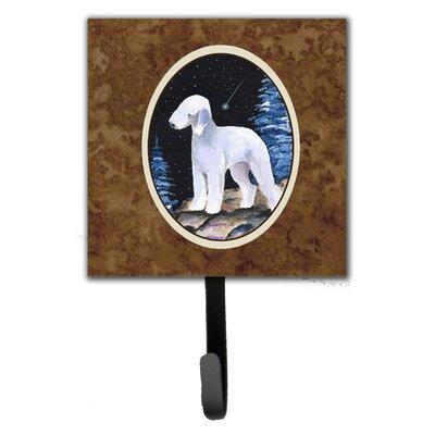 Starry Night Bedlington Terrier Leash Holder and Key Hook