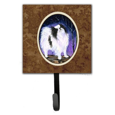 Japanese Chin Leash Holder and Key Hook