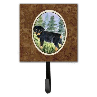 Rottweiler Leash Holder and Key Hook