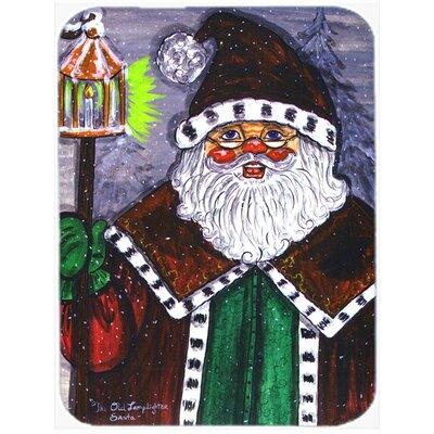 Santa Claus Glass Cutting Board