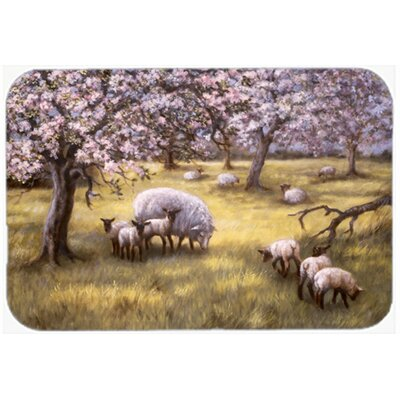 Sheep Glass Cutting Board