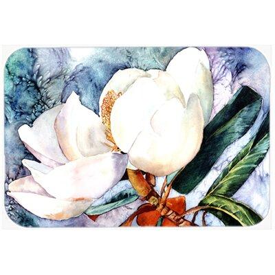 """Magnolia Kitchen/Bath Mat Size: 24"""" W x 36"""" L"""