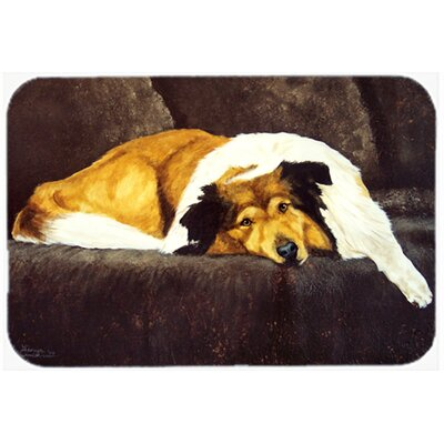 """Collie by Tanya and Craig Amberson Kitchen/Bath Mat Size: 20"""" W x 30"""" L"""