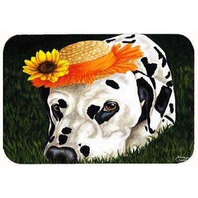 """My Sun Spot Dalmatian Kitchen/Bath Mat Size: 24"""" W x 36"""" L"""