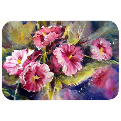 "Showers Bring Spring Flowers Kitchen/Bath Mat Size: 24"" W x 36"" L"