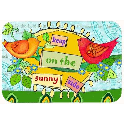 "Keep on the Sunny Side Kitchen/Bath Mat Size: 24"" W x 36"" L"