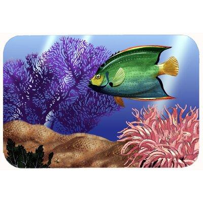 "Undersea Fantasy 2 Kitchen/Bath Mat Size: 24"" W x 36"" L"