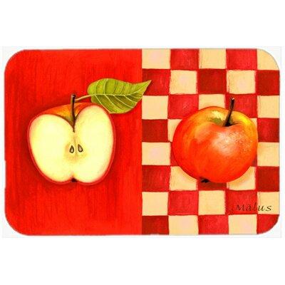 "Apple by Ute Nuhn Kitchen/Bath Mat Size: 20"" W x 30"" L"