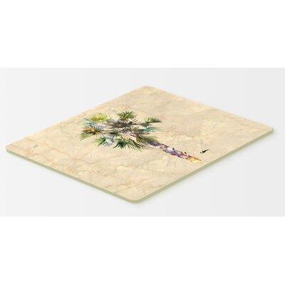 """Palm Tree Kitchen/Bath Mat Size: 24"""" H x 36"""" W x 0.25"""" D"""