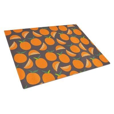 Glass Oranges Cutting Board