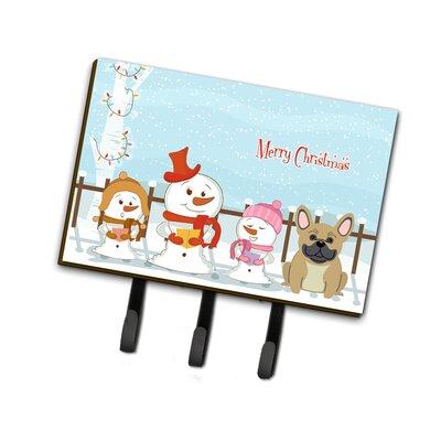 Merry Christmas Carolers French Bulldog Leash or Key Holder
